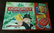 Monopoly Electronic Banking Board Game Hasbro 2013 ~ COMPLETE
