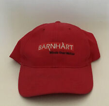 Red Barnhart Hat Adjustable