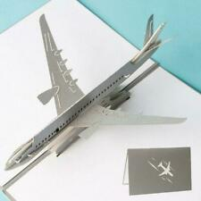 Airplane Greeting 3D Pop Up Cards Christmas Birthday Valentine Invitation.