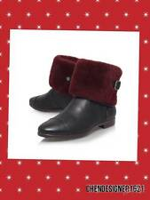Ugg size 9 US Women's Inez  Leather ankle Boots,black New