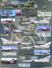 Aztec Decals 1/72 DAZZLING KINGS Israeli KFIR Jet Fighter Part 2
