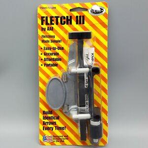 Arrow Fletching Tool by AAE Fletch III Jig Fletcher for Archers & Bow Hunters