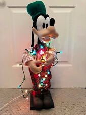 Telco Disney Animated Goofy Christmas Holiday light up musical Decoration 29""