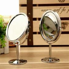 Women Makeup Cosmetic Mirror Double Sided Normal Magnifying Stand Mirror Gift BJ