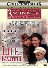 Life Is Beautiful (Dvd, 1999)Roberto Benigni, Nicoletta Braschi New