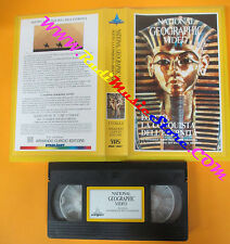 VHS film EGITTO LA CONQUISTA DELL'ETERNITA' NATIONAL GEOGRAPHIC VIDEO(F3) no dvd