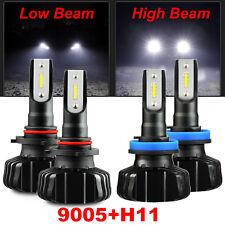 JDM ASTAR NX 20000LM LED Headlight High & Low Beams Combo kit Cool White Bulbs 4