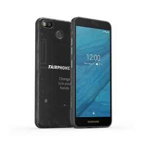 "Fairphone 3 Black 5.65"" 64GB 4G Dual SIM Unlocked & SIM Free"