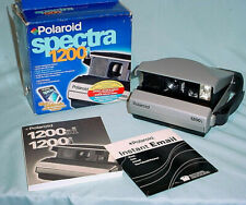 Polaroid 1200i Spectra Film Instant Camera Fully Operational Box Manual NICE
