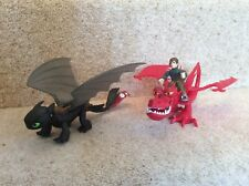 How To Train Your Dragon Figure Bundle Toothless Hookfang 2014 Joblot Toys