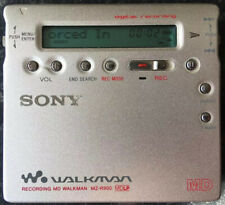 Sony MZ-R900 Silver Minidisc Recorder/Player Excellent Condition MD Walkman