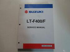 2002 2003 2004 2005 2006 2007 Suzuki LT-F400/F LTF400F Service Shop Manual New