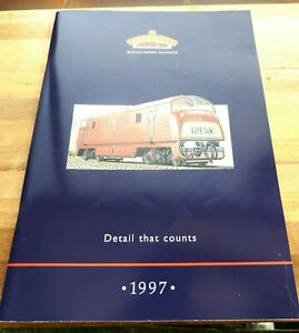 Bachmann Branch-Line OO Gauge Railways Catalogue 1997 with price list ex con