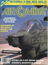 Air Combat S 1982 Boeing AWACS Convair F-102A Lockheed Orion Navy Anti Submarine