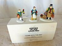 Dept 56 Heritage Village Come Into the Inn Set of 3 - 55603