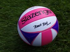 SLAZENGER - BEACH BALL VOLLEY VOLLEYBALL - OFFICIAL SIZE & WEIGHT - 100% NEUF