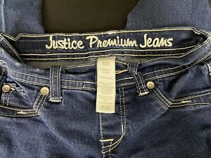 Justice Premium Jeans Girls Size 8 R