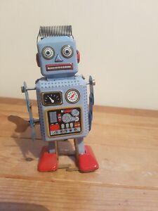 Clockwork Tin Plate Robot