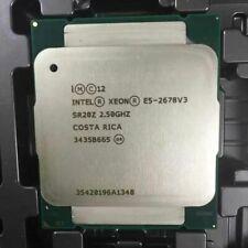 Intel Xeon E5-2678 V3 SR20Z 2.5GHz 12Core 120W 30MB LGA2011-3 CPU Processor