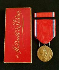 WW1 Original French Medal for Verdun battle 1916 bronze in genuine box