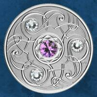 Kanada - Birthstone - Februar - 5 $ 2020 PP Swarovski - Silber - February -