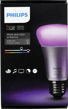 Philips - hue White and Color Ambiance A19 Smart Led Light Bulb - Multi