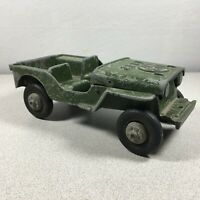 Vintage 1940's Oglesby Military WWII Star Army Jeep Willys Diecast Aluminum