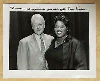 ORIGINAL - PRESIDENT BILL CLINTON AUTOGRAPH INSCRIBED SIGNED PHOTOGRAPH