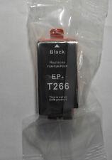 Tinte für Epson Workforce WF 100 W  black schwarz T 266 T2661 OVP A