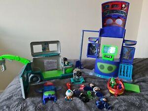 Pj masks toys bundle