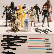 "10pcs/set Star Wars Force Awakens Yoda Luke Vader 6"" Action Figure Collectible"