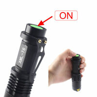 20000LM XM-L T6 LED 18650 Flashlight ZOOM Tactical&Military Emergent Torch Light