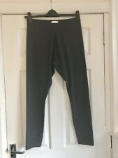 Grey Charcoal Leggings Size 16 Matalan Papaya