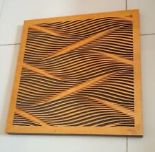 3X NEW ART Quality colour wood diffusers acoustic panel sound studio wall home