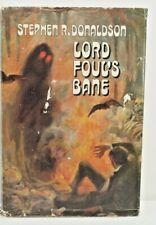 LORD FOUL'S BANE Stephen R. Donaldson 1977.  1st HC/DJ. BCE.