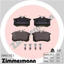 1x Bremsbelagsatz  Scheibenbremse ZIMMERMANN 20961.172.1