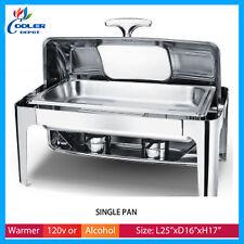 Open Pan Electric Warmer Window Table Countertop Buffet Catering 31 Cooler Depot