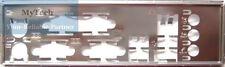 ASUS I/O IO SHIELD BLENDE BRACKET P5GC-VM, P5B-MX, P5KPL-VM, P5LD2-C/IPAT  NEU