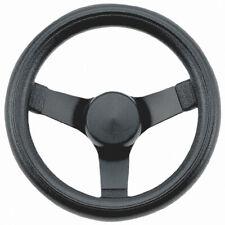 "Empi 79-4052 Classic Steering Wheel, Black 3 Spoke 10-1/4"" Diameter, 3-1/2"" Dish"