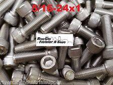 (10) 5/16-24x1 Socket Allen Head Cap Screw Stainless Steel Fine Thread