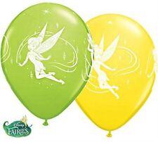 "25 x 11"" Round Disney Tinker Bell Fairy (Fairies) Latex balloons"