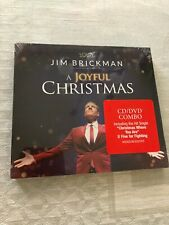 JIM BRICKMAN  A JOYFUL CHRISTMAS  CD DVD Combo Brand New Factory Sealed