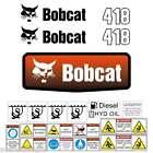 418 DECALS 418 Stickers Bobcat 418 Decal STICKER Kit Mini Excavator