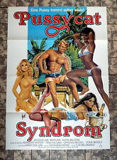 PUSSYCAT SYNDROM * A1-FILMPOSTER - German 1-Sheet 19?? EROTIK + RAR + TOP-GRAFIK