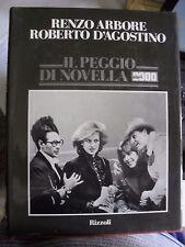 Arbore e D'Agostino IL PEGGIO DI NOVELLA 2000 ed. Rizzoli 1986