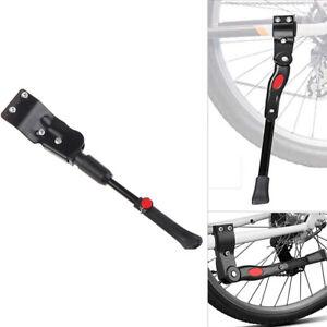 1Pc Adjustable Bicycle Kickstand Rack Mountain Bike Support Side Foot BraceB;fr