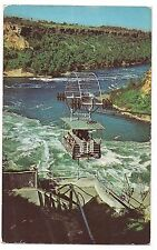 SPANISH AEROCAR  Whirlpool Steel Cable Air Car NIAGARA FALLS Canada Postcard
