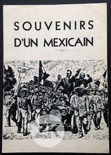 MEMORIAS DE UN MEXICANO Carmen TOSCANO Salvador Villa Zapata Mexique DP 1954