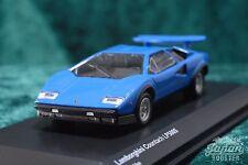 [KYOSHO ORIGINAL 1/64] Lamborghini Countach LP500S Light Blue KS07045A6