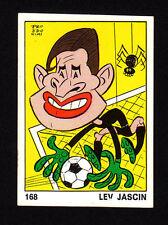 Lev Jascin Football Soccer 1973 Panini Sticker from Italy
